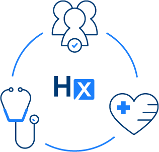Graphic of HealthX member engagement cycle